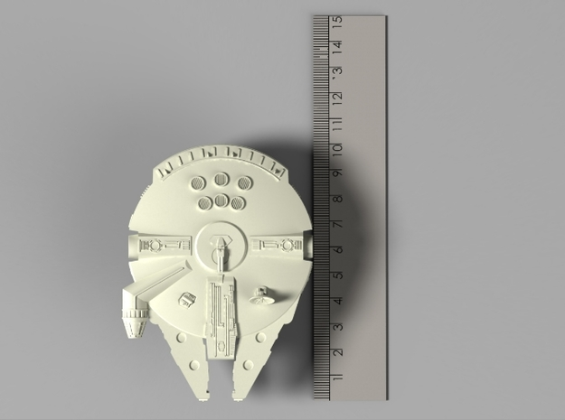 Star Wars: Millennium Falcon (100mm) 3d printed
