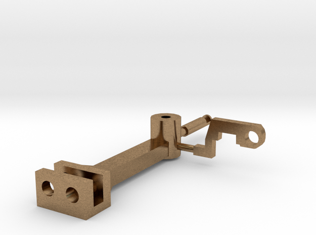 Functional Tomlinson Coupler in Natural Brass