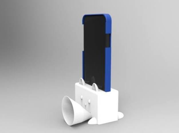 iphone 6 Speaker  Body part 1 of part 2 in White Natural Versatile Plastic