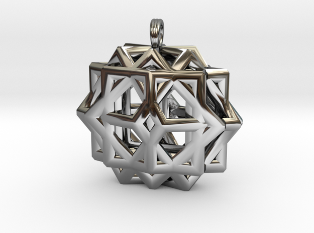 CUBE THIRTY-SIX in Premium Silver