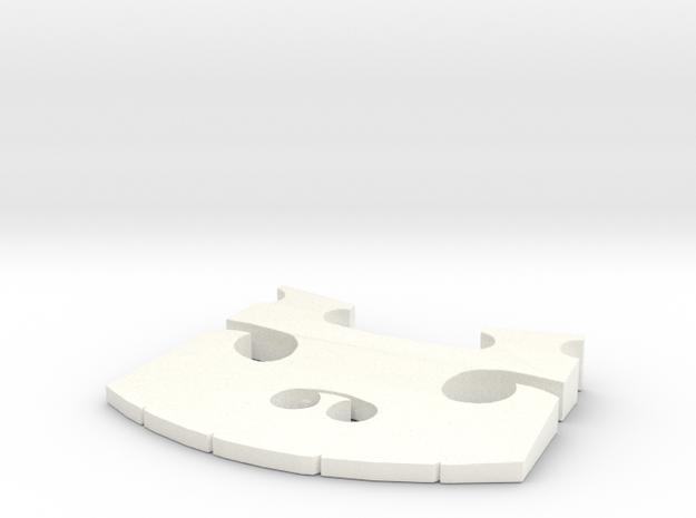 Violin Bridge V2 3d printed