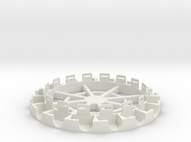 GOProringdruck.stl in White Natural Versatile Plastic