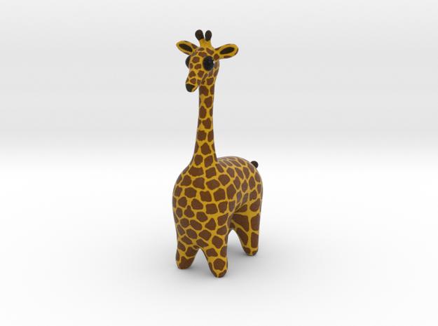 Giraffe in Full Color Sandstone