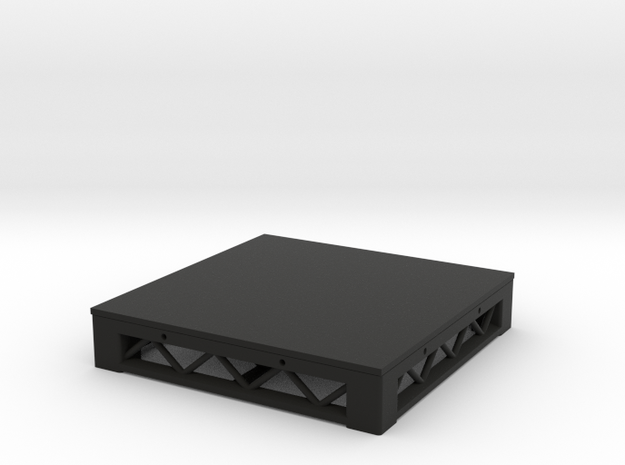 1:25 Platform 3x3 in Black Strong & Flexible