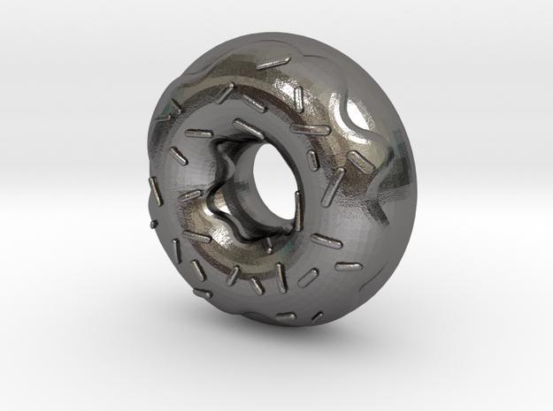Original Design: Donut Steel! in Polished Nickel Steel