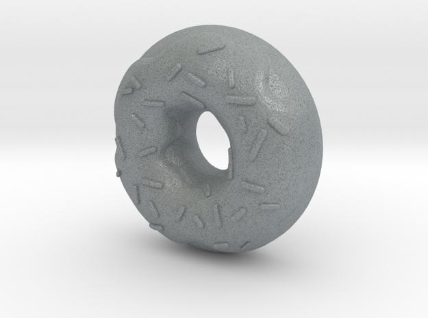 Original Design: Donut Steel! in Polished Metallic Plastic
