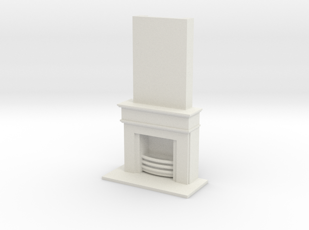Fireplace Scaled 3d printed