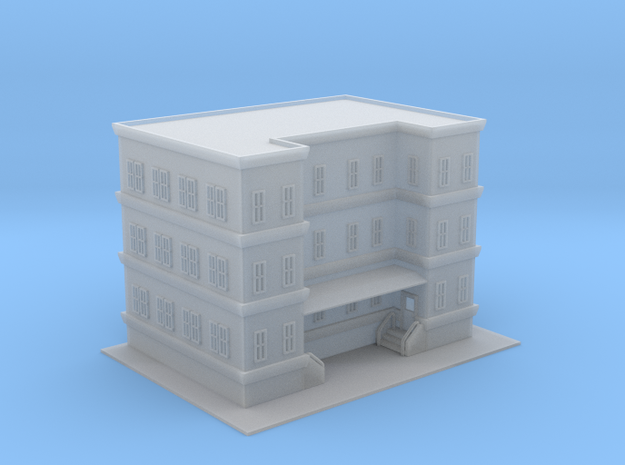City Apartment Building 3 Z Scale