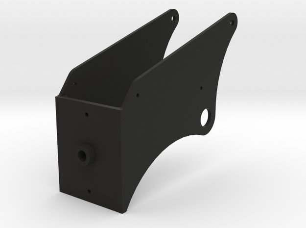 P40 Gunsight Mount in Black Natural Versatile Plastic