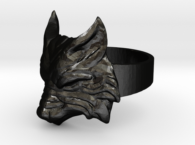 Fenrir - Norse Wolf Ring - Size 8