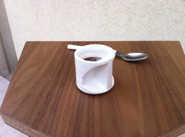 expresso coffee cup Father's day  3d printed