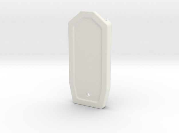 10-M-09 Type-EN-00 Embossed in White Natural Versatile Plastic