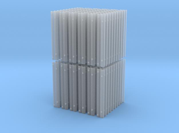 120 Rillenschwellen 0e für Peco c.60 in Smoothest Fine Detail Plastic