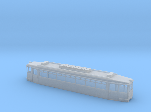 Gehäuse Extertalbahn in Smooth Fine Detail Plastic