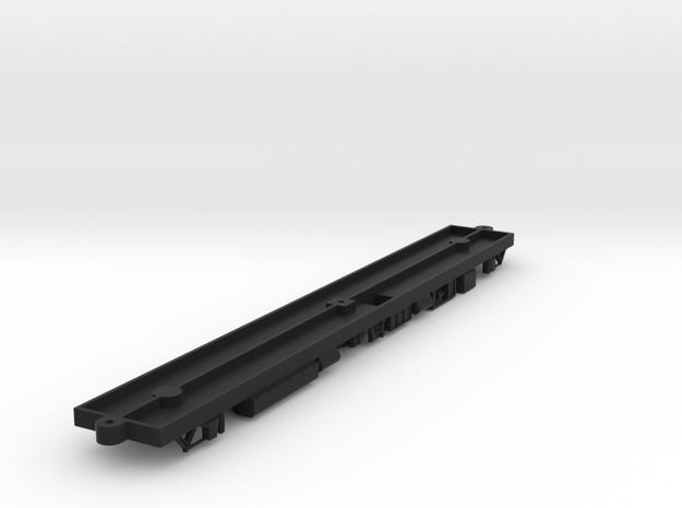 HO Silverliner IV Frame/Underbody  in Black Natural Versatile Plastic