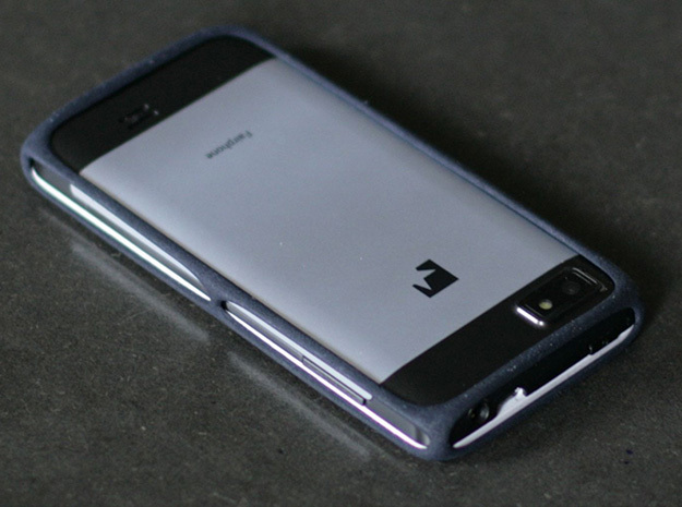 Fairphone Bumper in Black  in Black Natural Versatile Plastic
