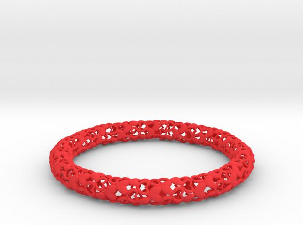 Heart By Heart Bracelet in Red Processed Versatile Plastic