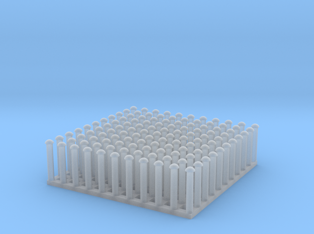 "1:24 Round Rivet Set (Size: 0.75"") in Smooth Fine Detail Plastic"