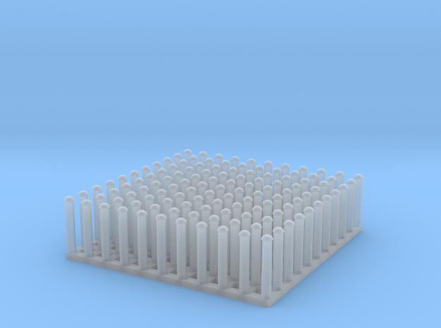 "1:24 Round Rivet Set (Size: 0.625"") in Smooth Fine Detail Plastic"
