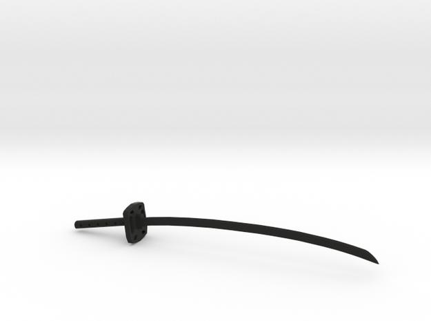 Katana print in Black Natural Versatile Plastic