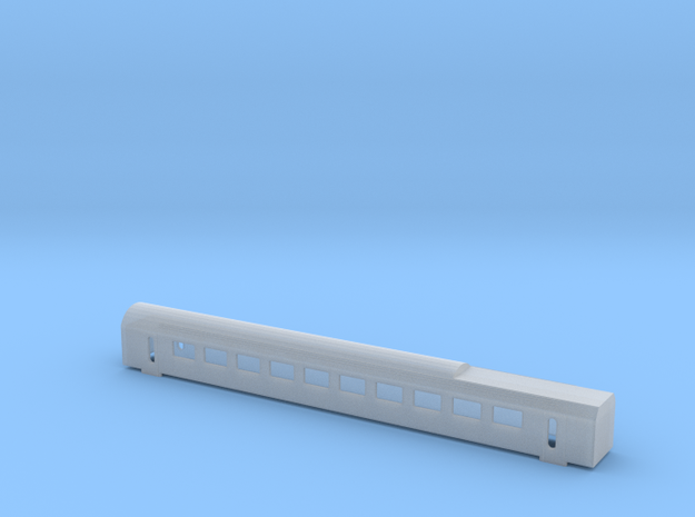 NMBS / SNCB AM 96  rijtuig / voiture 2 N 1:160 in Smooth Fine Detail Plastic