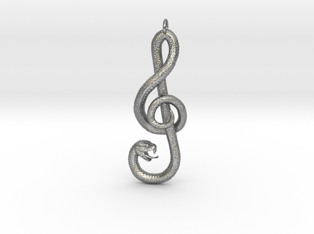 Song Snake in Natural Silver