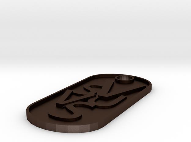 SVUVS in Matte Bronze Steel