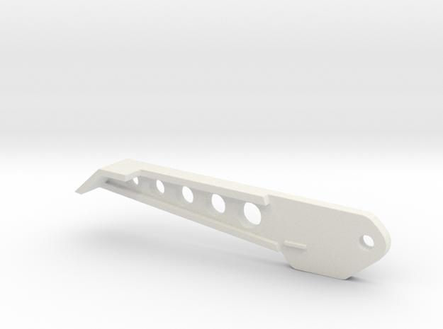 Trifecta Back Leg 30mm in White Strong & Flexible