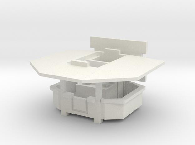 Ausschankwagen 1 - 1:160 (N scale) in White Strong & Flexible