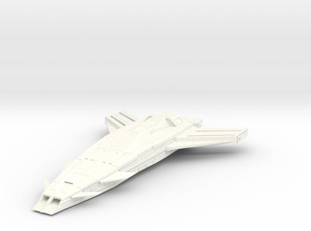 HvyCruiser in White Processed Versatile Plastic