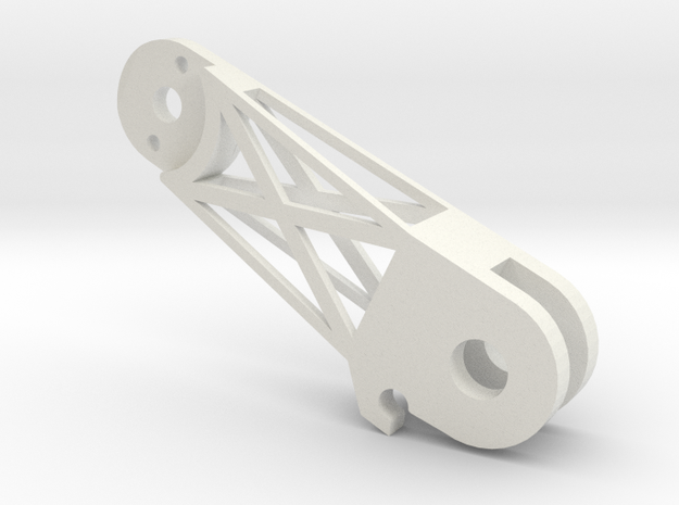 Arms Back Left(YD-5C) in White Natural Versatile Plastic
