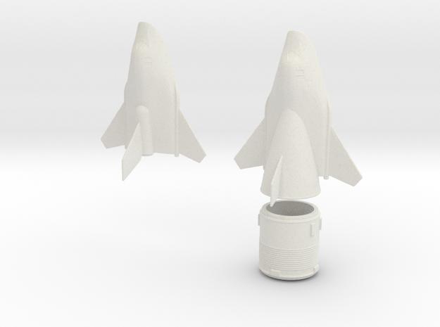 1/144 MIG SPIRAL SOVIET SPACE PLANE in White Natural Versatile Plastic