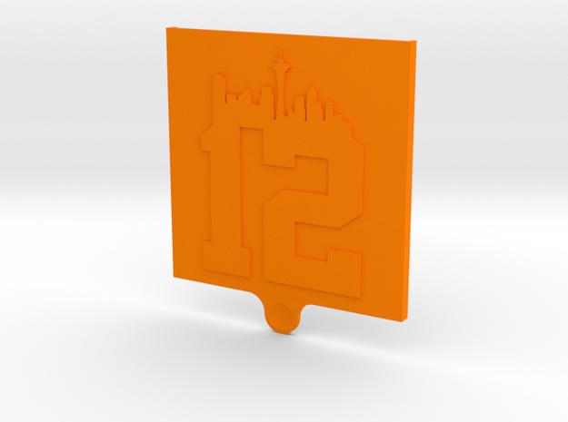 MiFi Case for Netgear Zing Hotspot door in Orange Strong & Flexible Polished