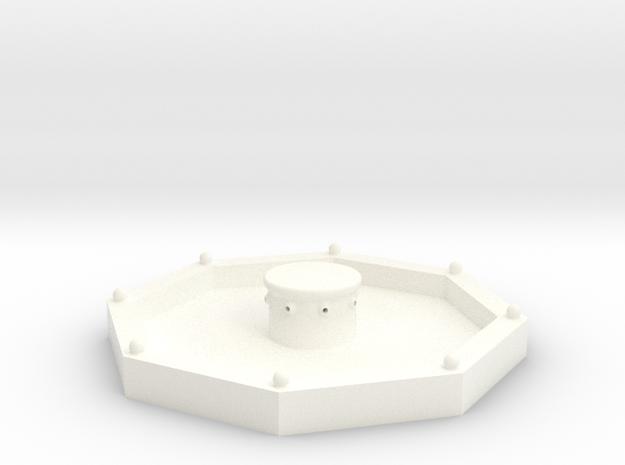 Stadtbrunnen (1/220) in White Processed Versatile Plastic
