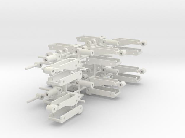 Hoist Ten Sprued in White Natural Versatile Plastic