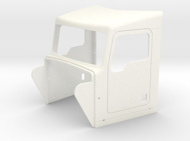 KW Style Cab  in White Strong & Flexible Polished