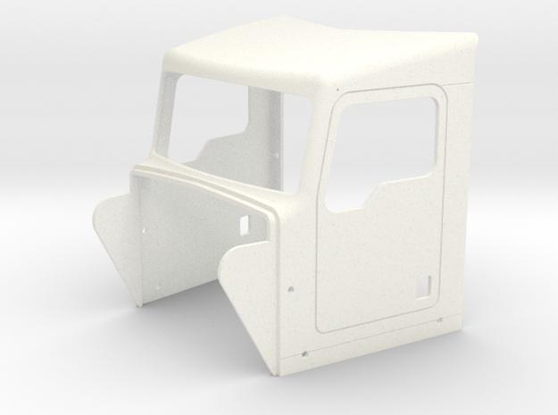 KW Style Cab  in White Processed Versatile Plastic