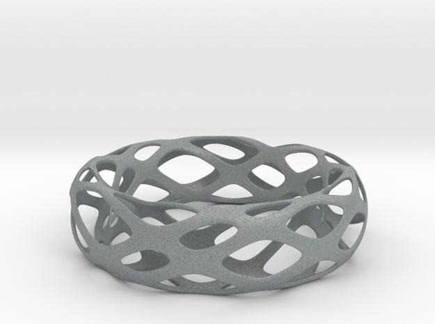 Frohr Design Bracelet 011 in Polished Metallic Plastic