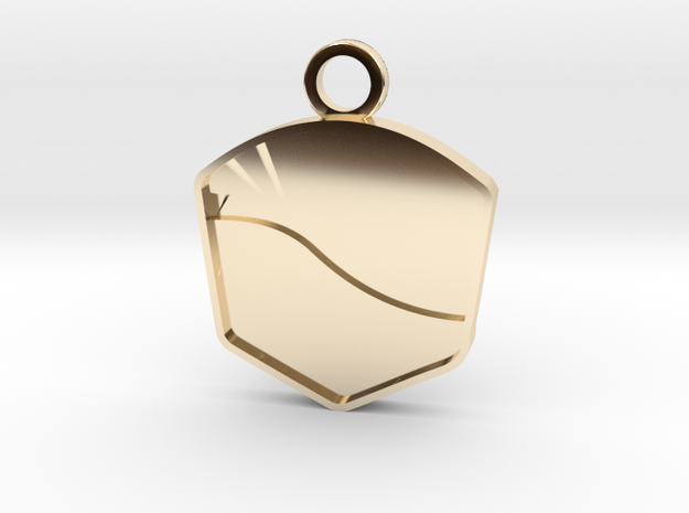 Pure Energy Award in 14K Yellow Gold