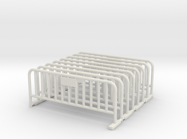 Barrier 01 (portable fence). Scale HO (1:87)