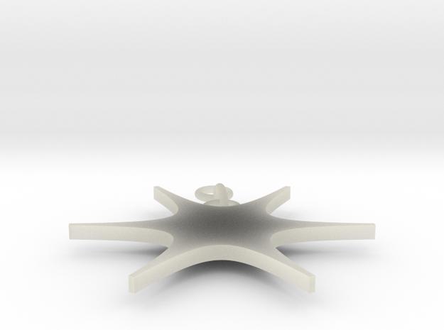 Joy's Shapeways Keychain2 in Transparent Acrylic