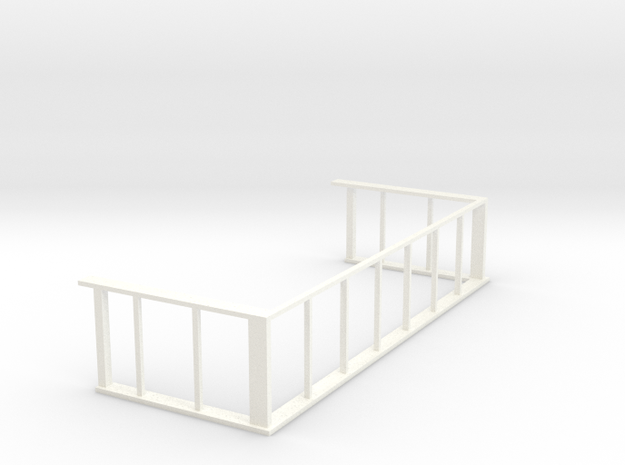 March East Window Frames in White Processed Versatile Plastic