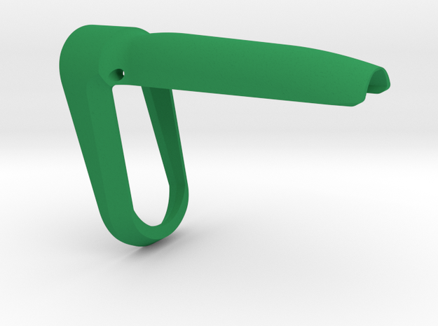 P-09 Backstrap Funnel (M) in Green Processed Versatile Plastic