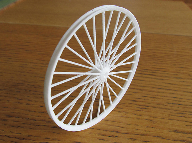 Pit Sheave Wheel 70 mm in White Natural Versatile Plastic