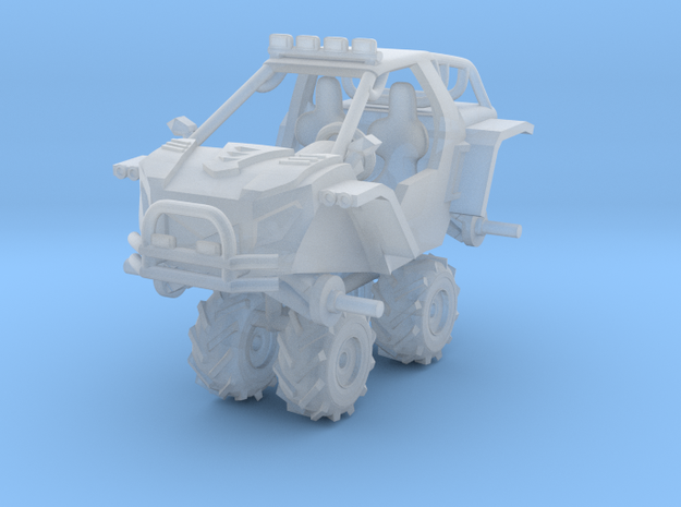 1/87 Scale 4x4 LMS-4 Buggy 'Mud' Edition in Frosted Ultra Detail