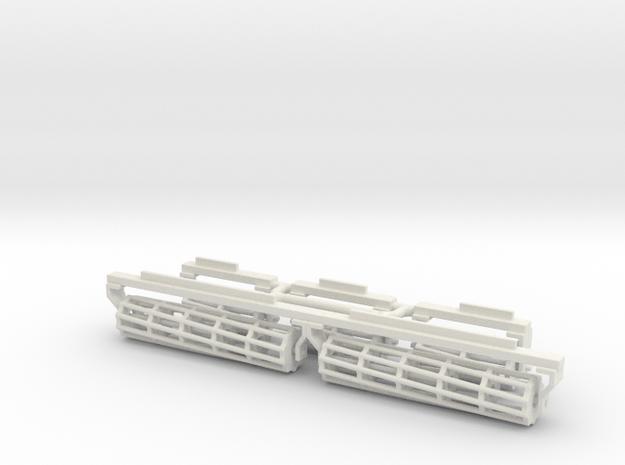 1/64 17.5' Crumbler baskets in White Natural Versatile Plastic