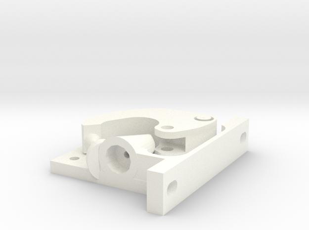Nema 17 Bowden 1.75mm filament driver. in White Processed Versatile Plastic