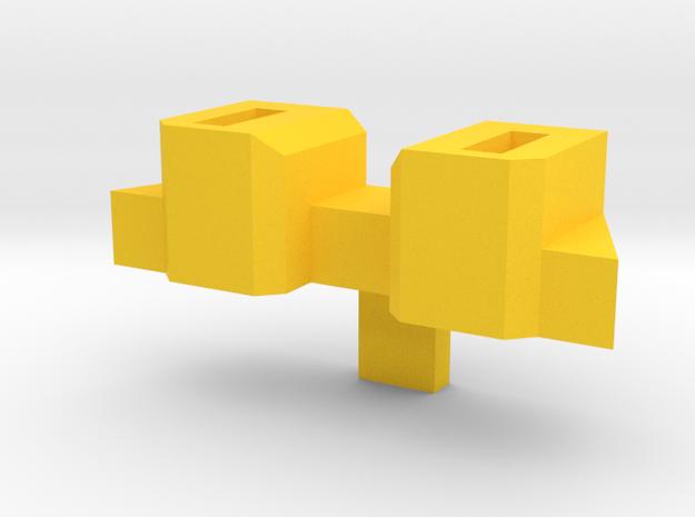 Combiner Wars Rodimus Axe Wing Peg Upgrade in Yellow Processed Versatile Plastic