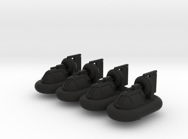 Bayou Master Hovercraft 3d printed