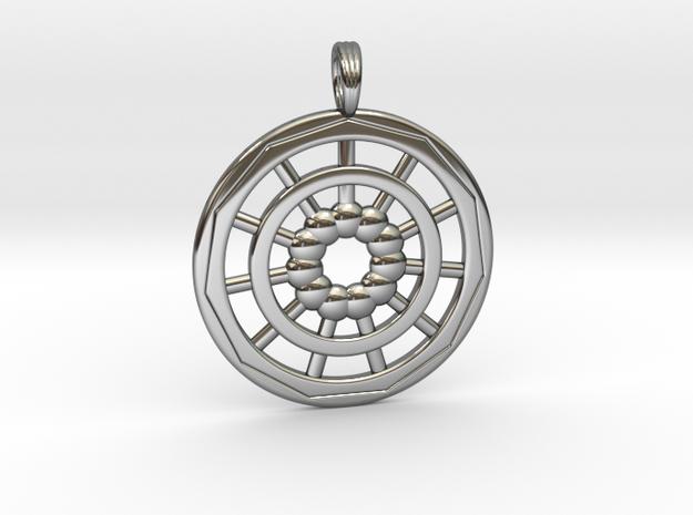 ELEVEN ORBS in Premium Silver